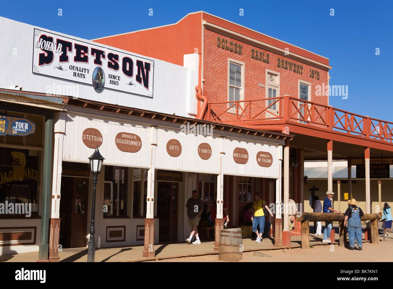 Tombstone, Cochise County, Arizona, United States of America, North America - Stock Image