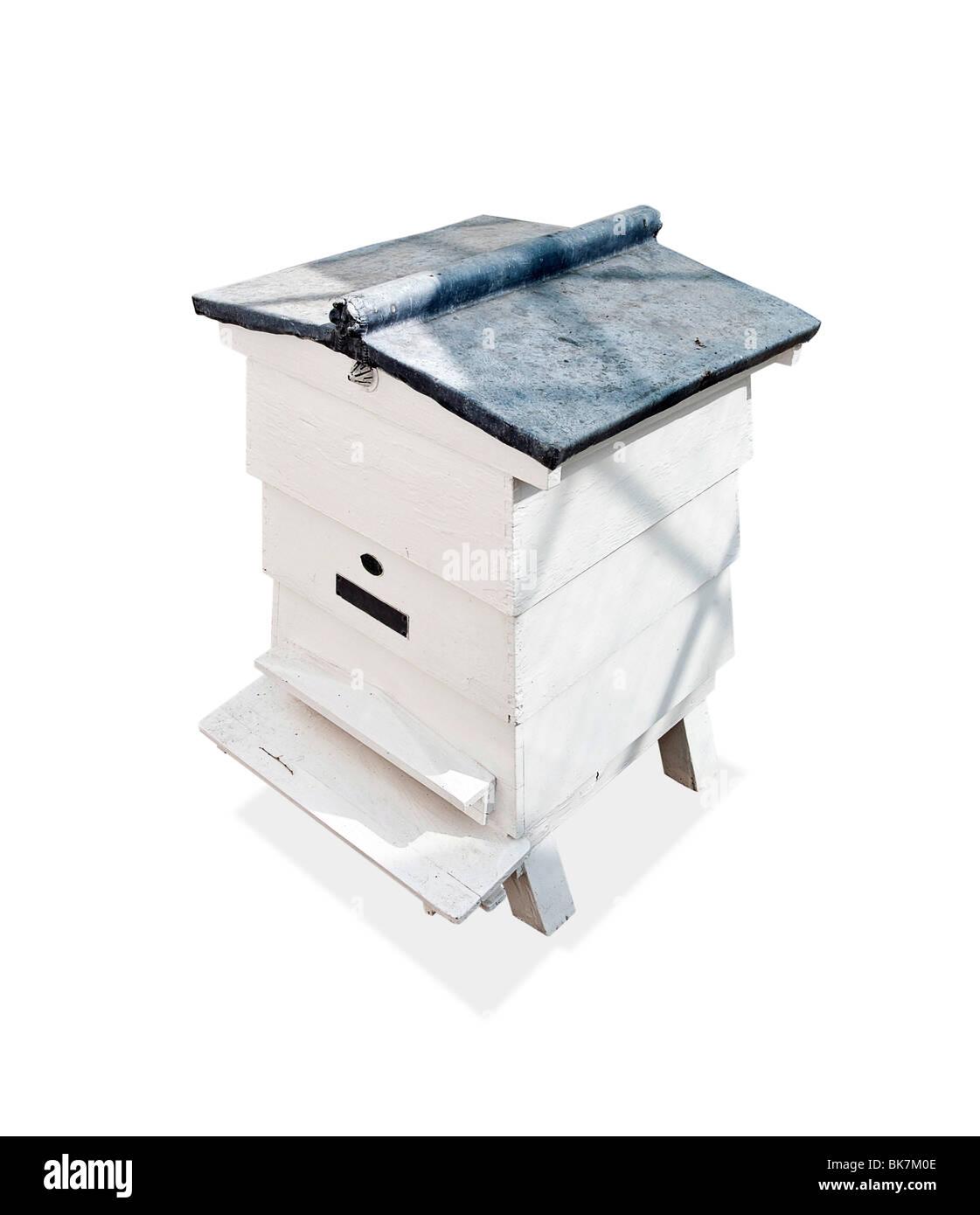 Bee hive - Stock Image