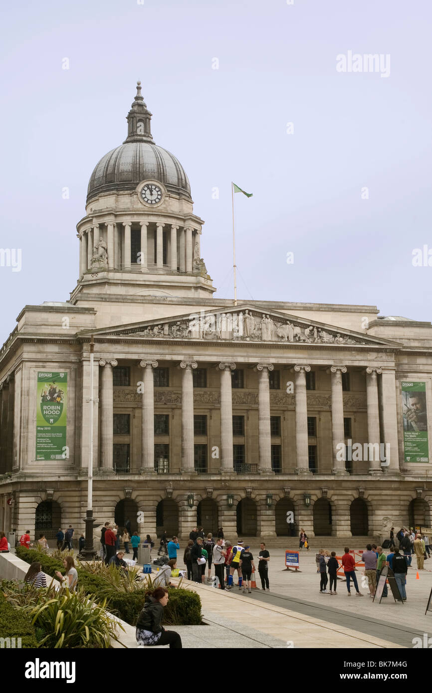 England Nottingham Council House - Stock Image