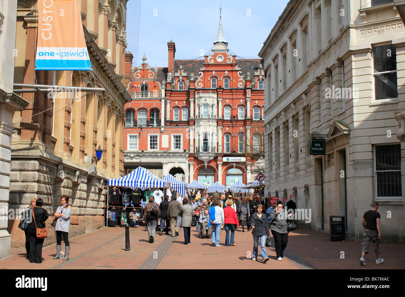 ipswich town centre shopping county town of suffolk east. Black Bedroom Furniture Sets. Home Design Ideas