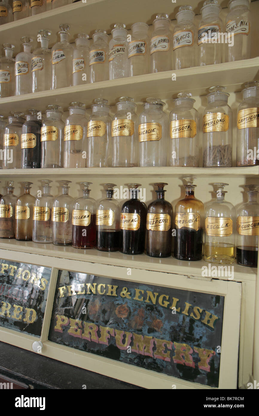 Virginia, VA, South, Alexandria, Old Town Alexandria, South Fairfax Street, historic district, Stabler Leadbeater Stock Photo