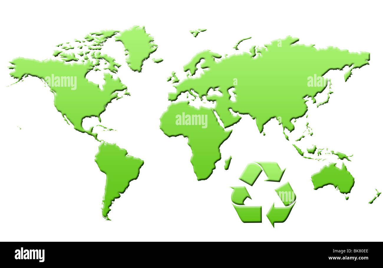 World Map Countries Continents.Illustrated World Map Countries Continents Cut Out Stock Images