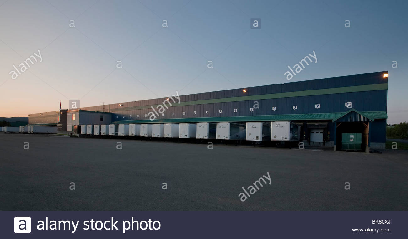 Distribution center. - Stock Image