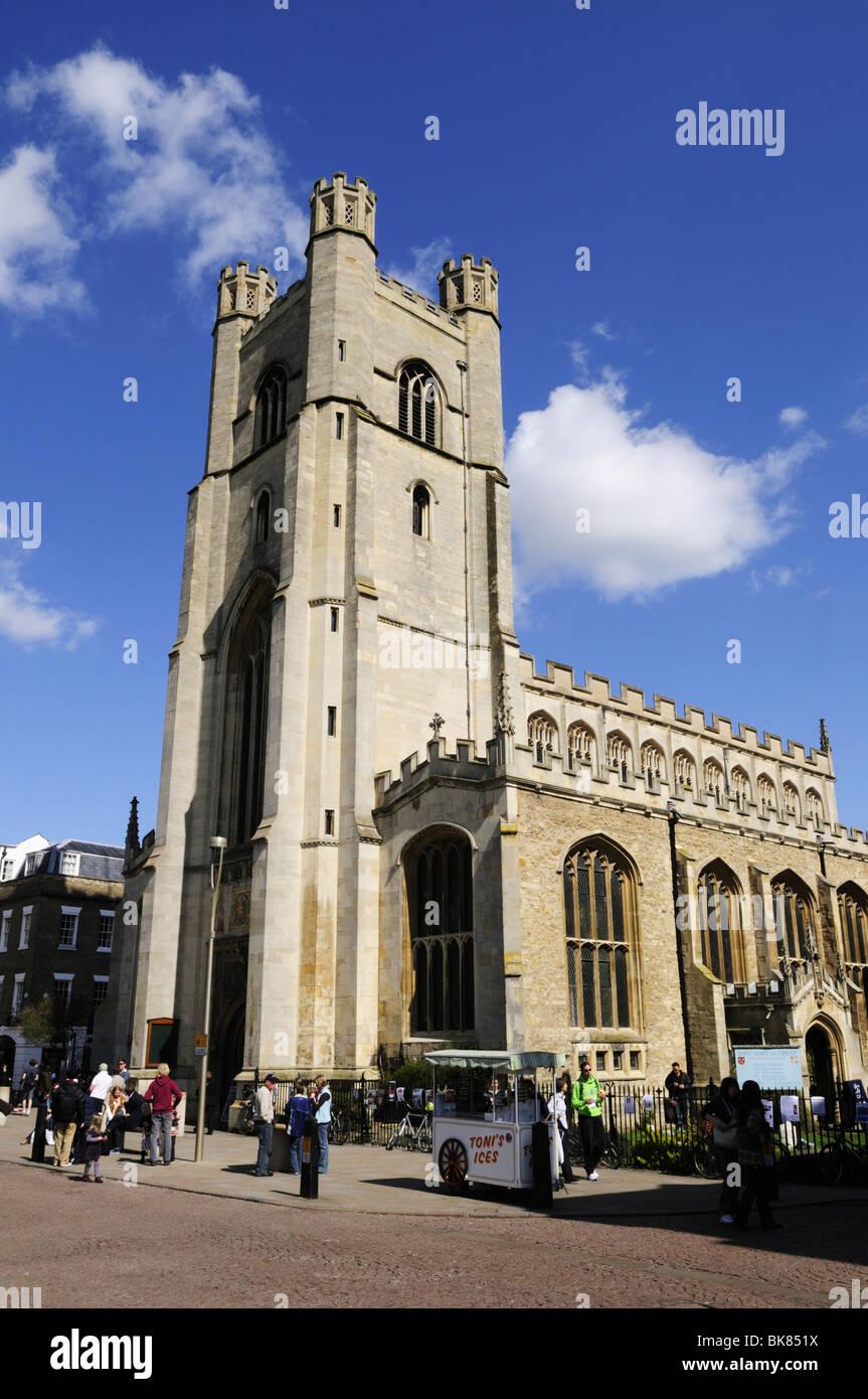 Great St Marys Church, Cambridge, England, UK - Stock Image