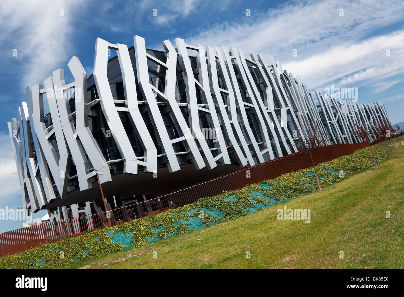 Caja Vital building, Vitoria, Alava, Spain - Stock Image
