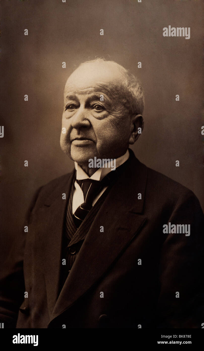 Portrait of a man, historical photograph, 1916 - Stock Image