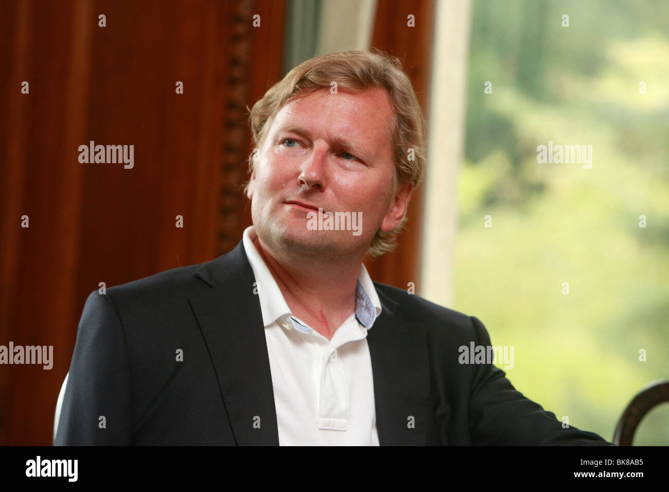 Joachim Schoss, founder of Scout 24 and MyHandicap, president of the interactive platform MyHandicap foundation, - Stock Image