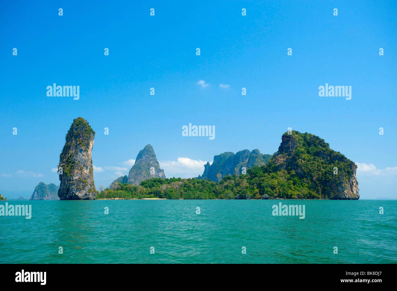 Phang Nga Bay, Phuket, Thailand, Asia Stock Photo
