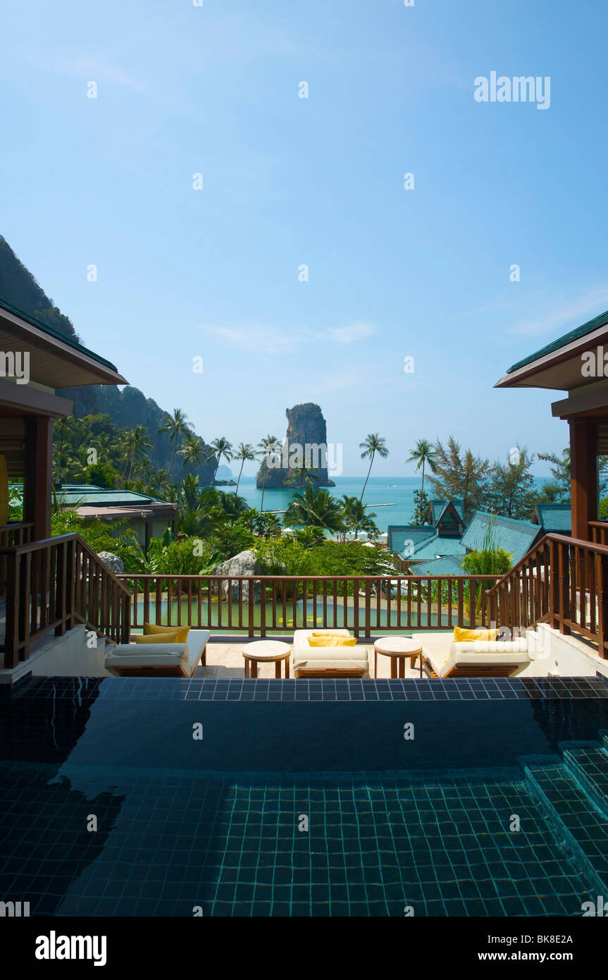 Pool of a a suite at the Centara Resort, Krabi, Thailand, Asia Stock Photo