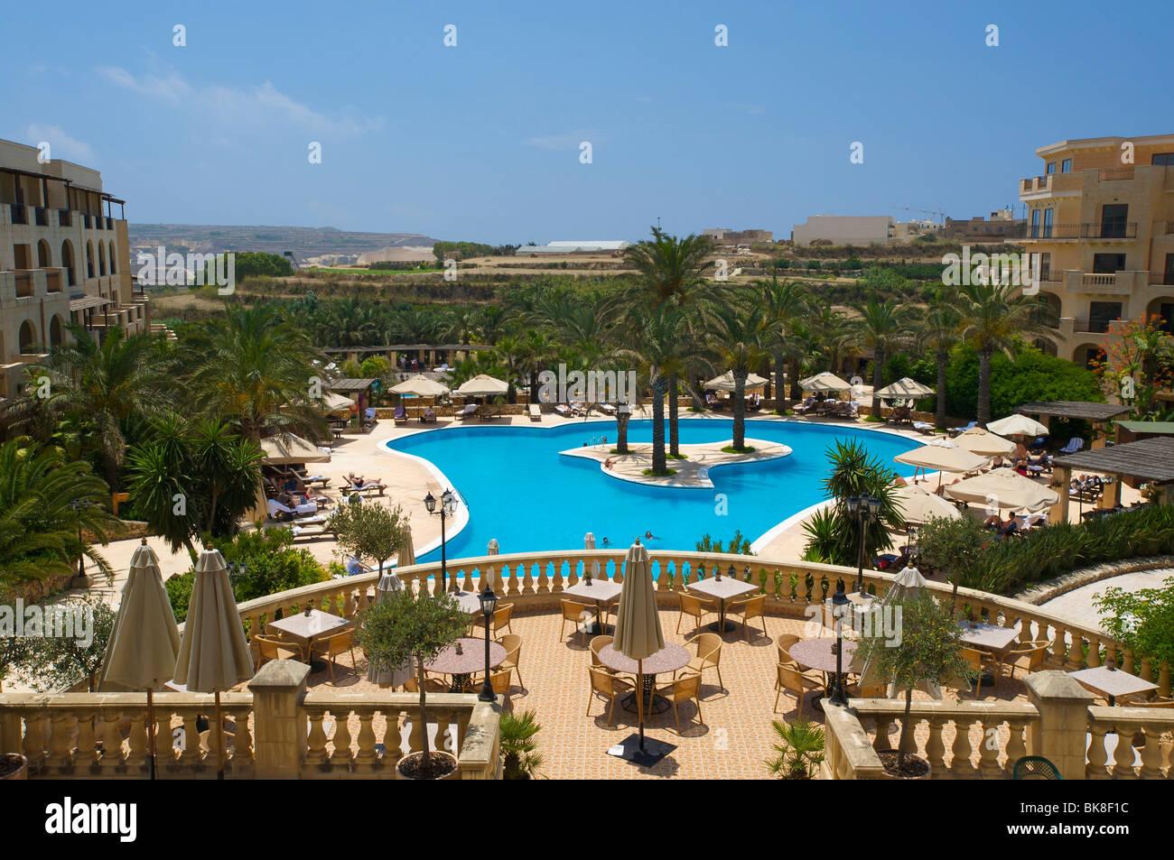 Kempinski Hotel in San Lawrenz on the island of Gozo, Malta, Europe Stock Photo