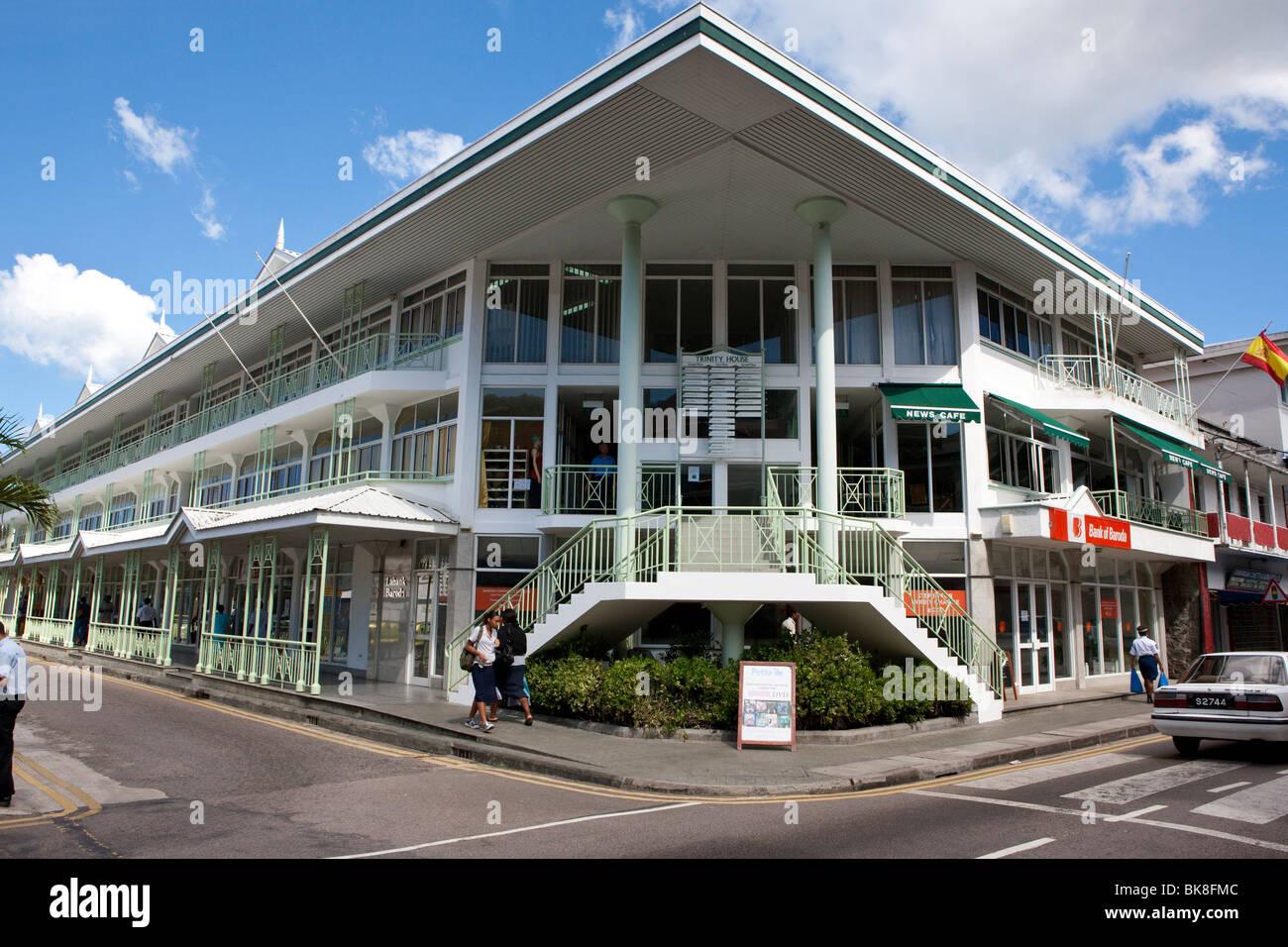 Trinity House in Albert Street, the capital city of Victoria, Mahe Island, Seychelles, Indian Ocean, Africa - Stock Image