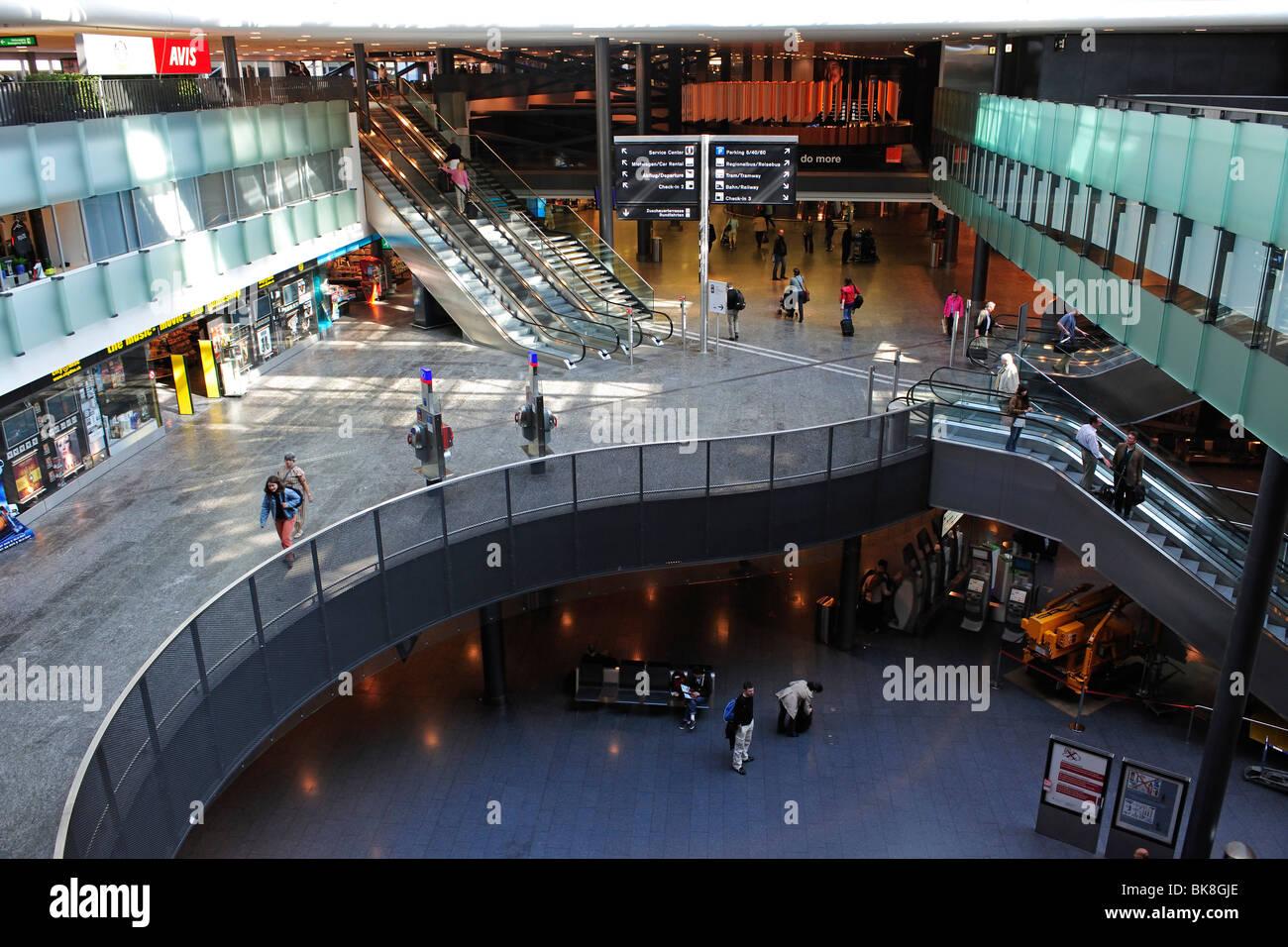 Zurich Airport, Switzerland, Europe - Stock Image