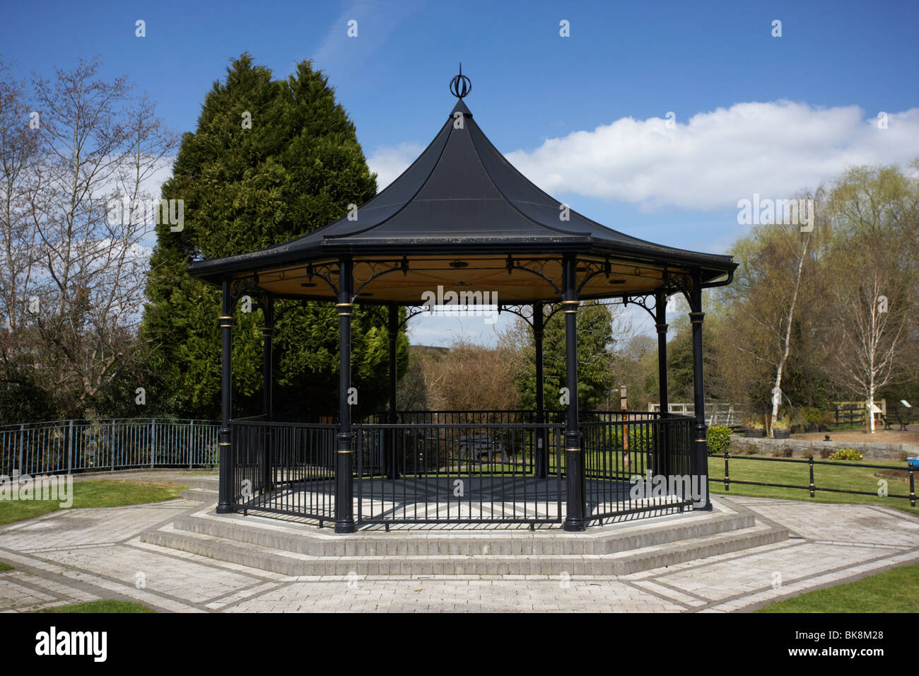 scarva victorian bandstand in village county down northern ireland uk Stock Photo