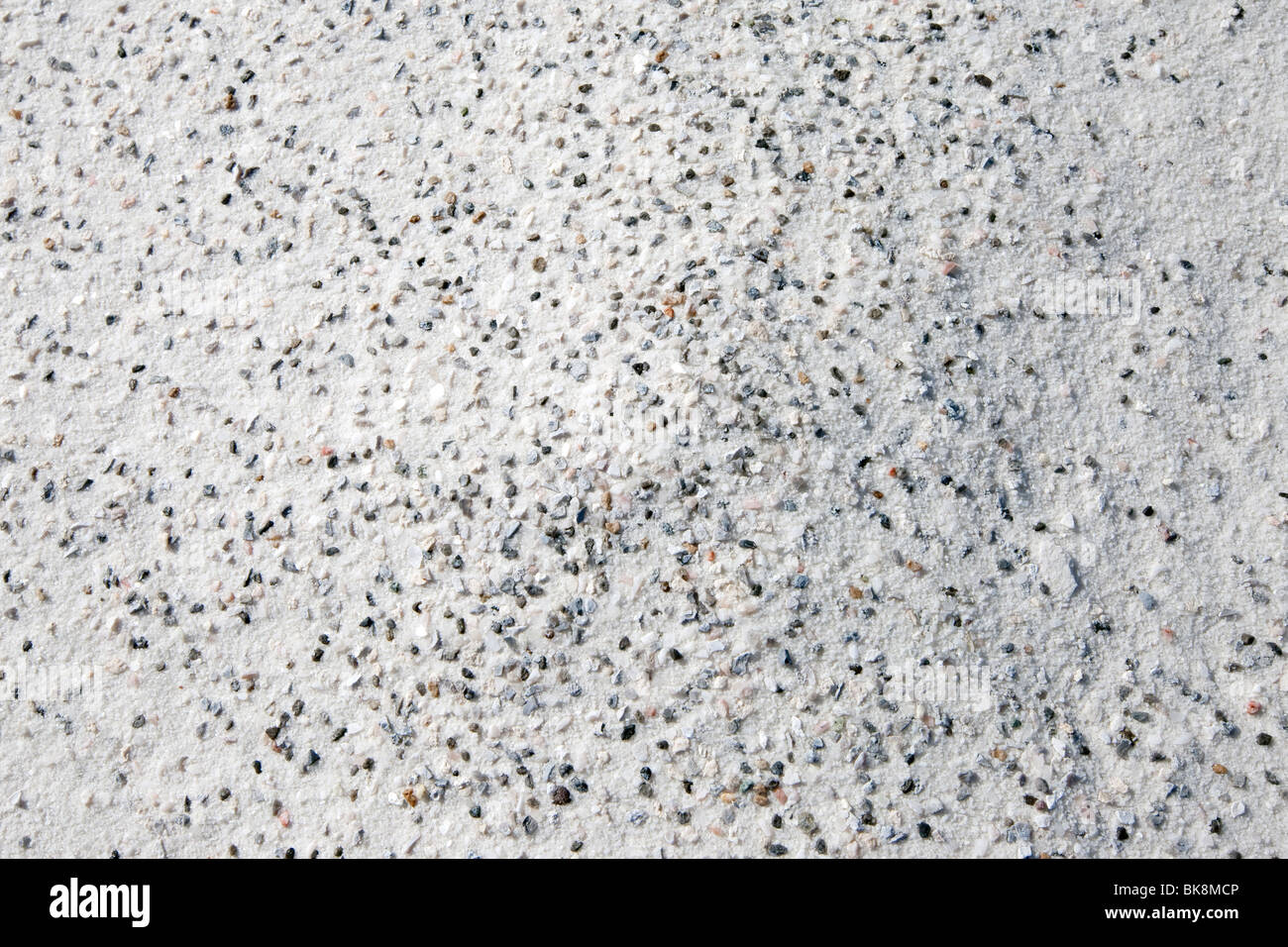 Weathering of rocks to sand - Stock Image