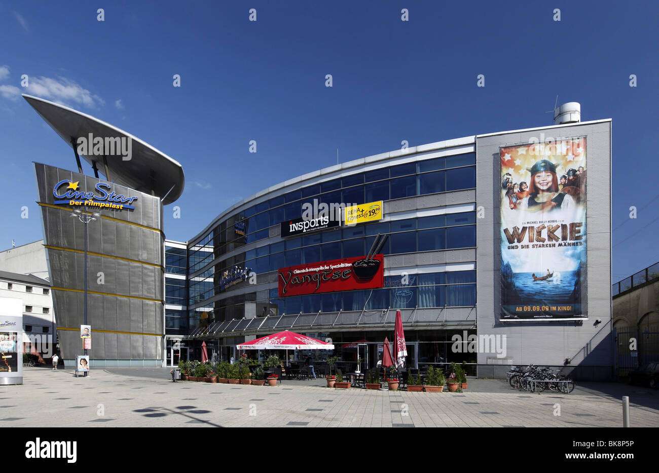 Cine Star cinema, Dortmund, North Rhine-Westphalia, Germany, Europe - Stock Image