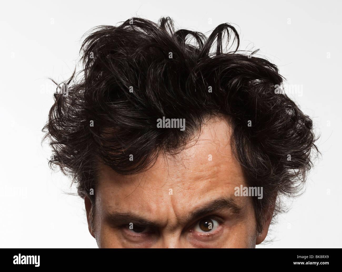 man portrait - Stock Image