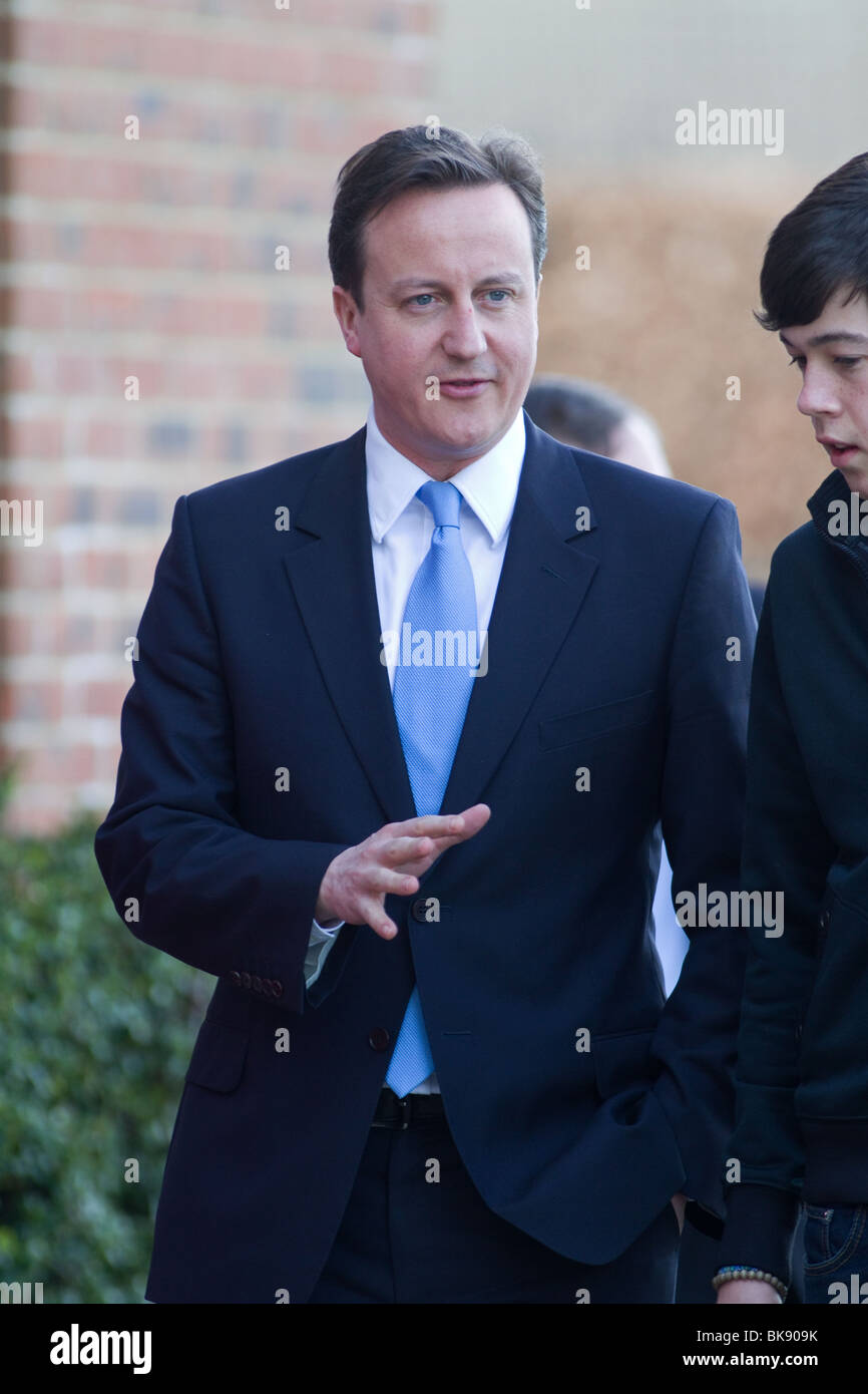 David Cameron Leader Of The Conservative Party - Stock Image