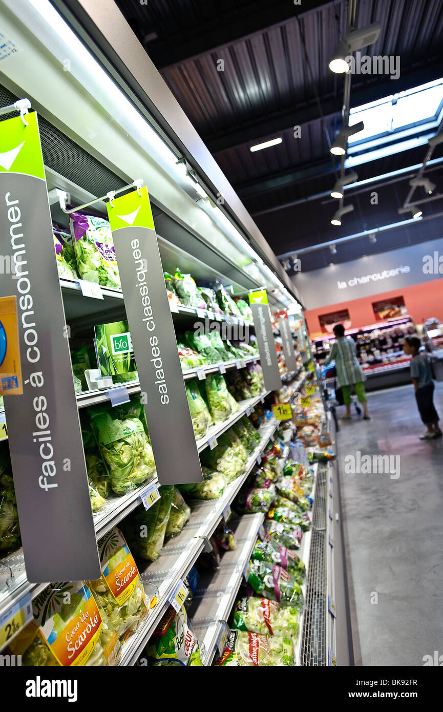Carrefour Supermarkets Stock Photos Carrefour Supermarkets
