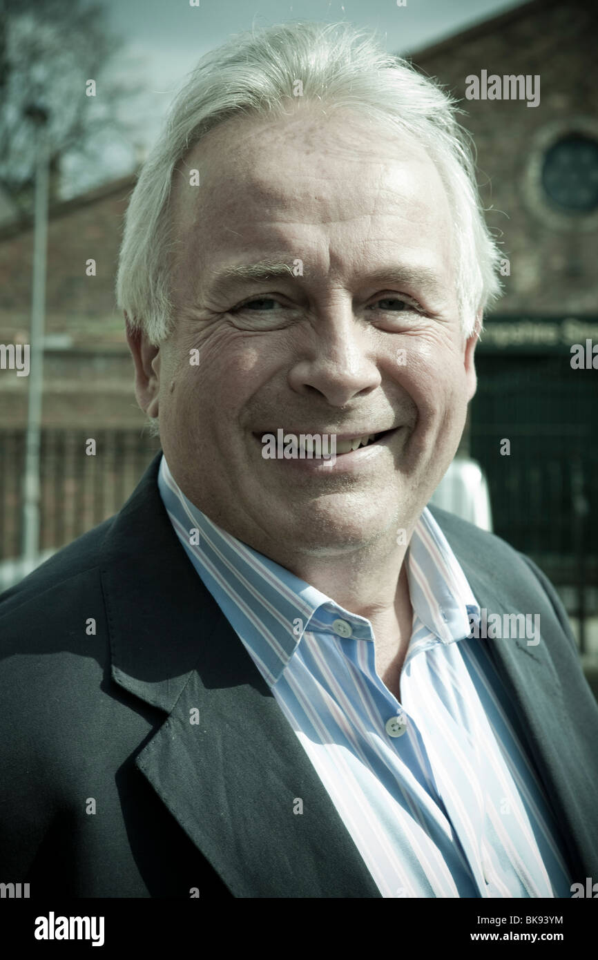Headshot of Christopher Biggins - Stock Image