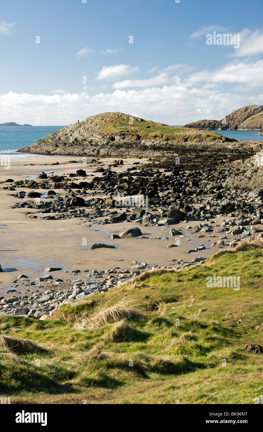 Whitesands Bay in Pembrokeshire West Wales Stock Photo