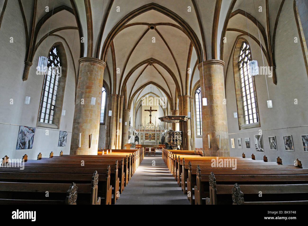 Neustaedter Marienkirche church, hall church, Gothic