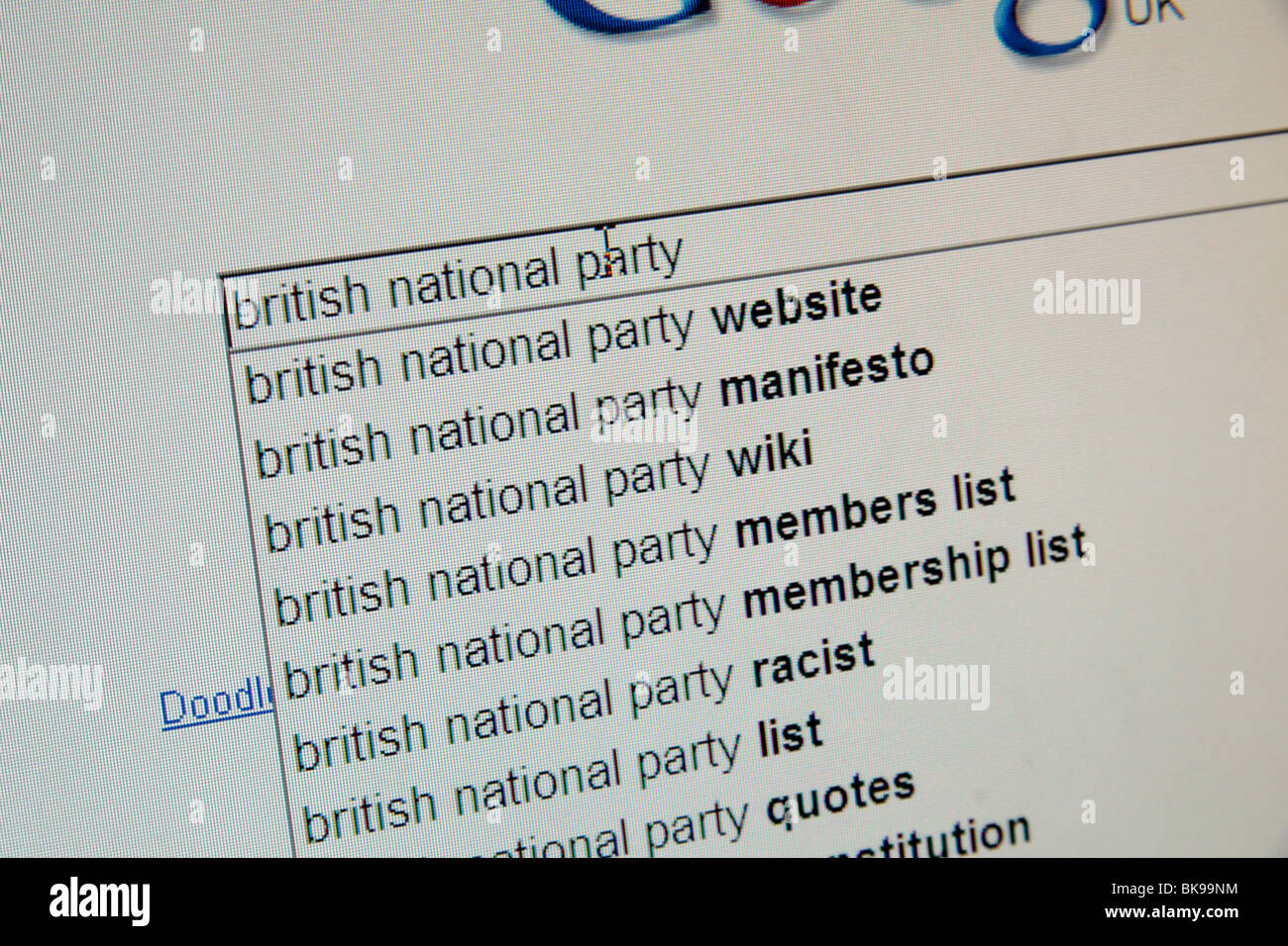 British National Party Stock Photos & British National Party Stock ...