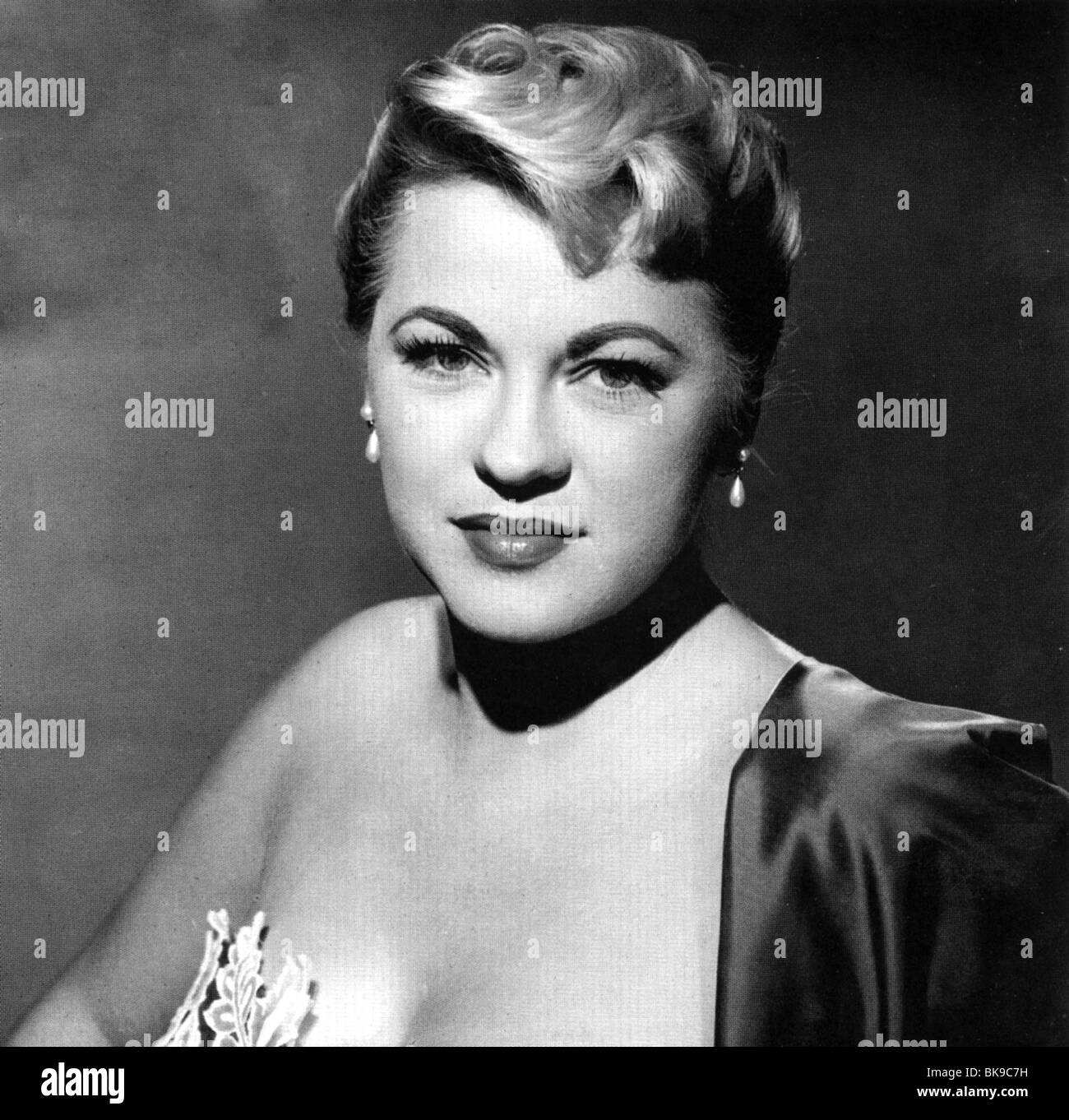 JERI SOUTHERN - US jazz pianist and singer (1926 -1991) - Stock Image
