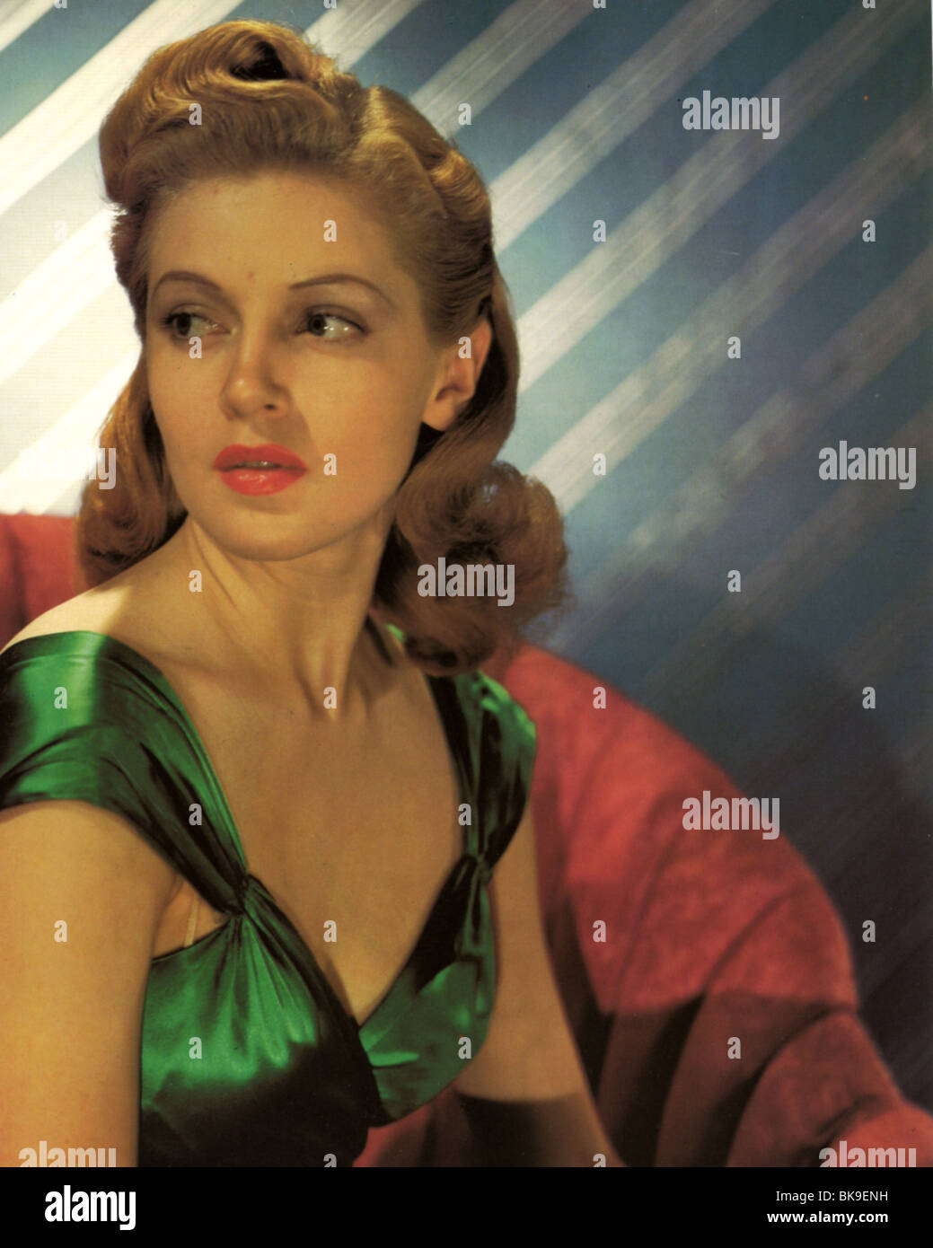ANN SOUTHERN - US film actress in 1937 - Stock Image