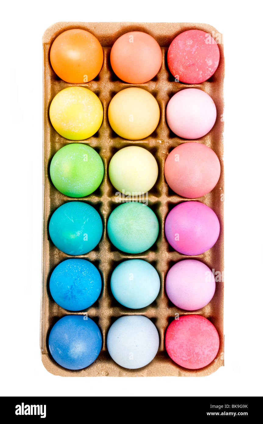easter eggs colored eggs Stock Photo: 29099215 - Alamy