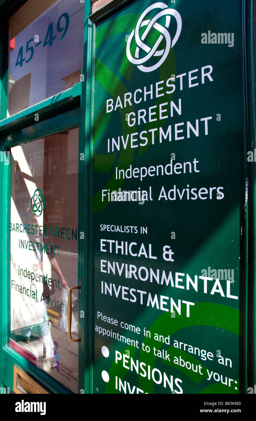 Barchester Green Investments, Salisbury, Wiltshire, UK - Stock Image