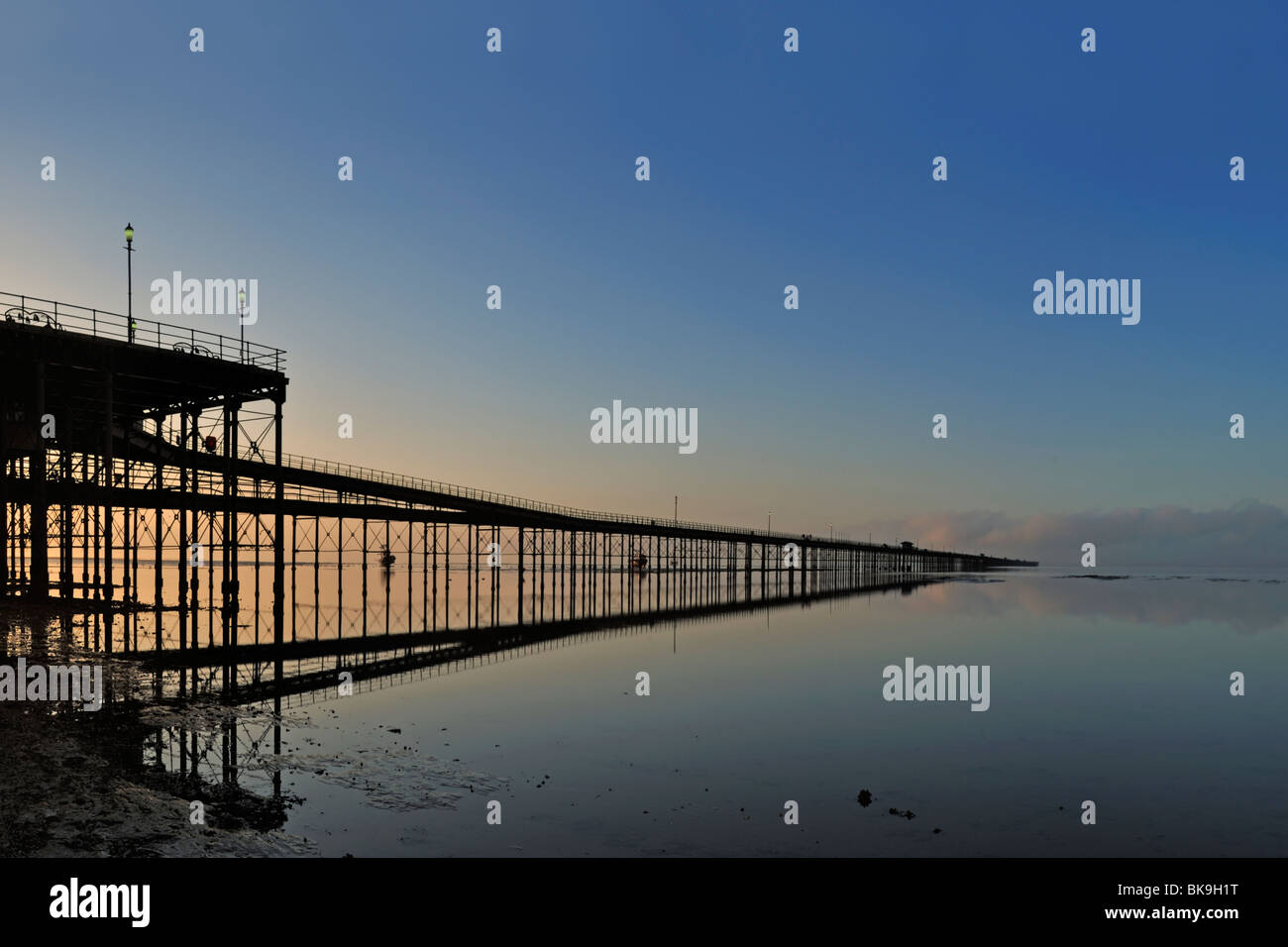 Southend Pier, Essex - Stock Image