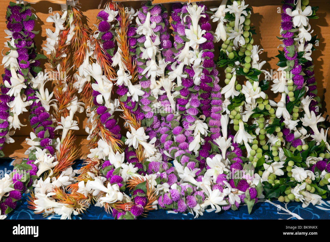 Floral leis and haku ready for sale by vendors at merrie monarch floral leis and haku ready for sale by vendors at merrie monarch festival in hilo hawaii izmirmasajfo