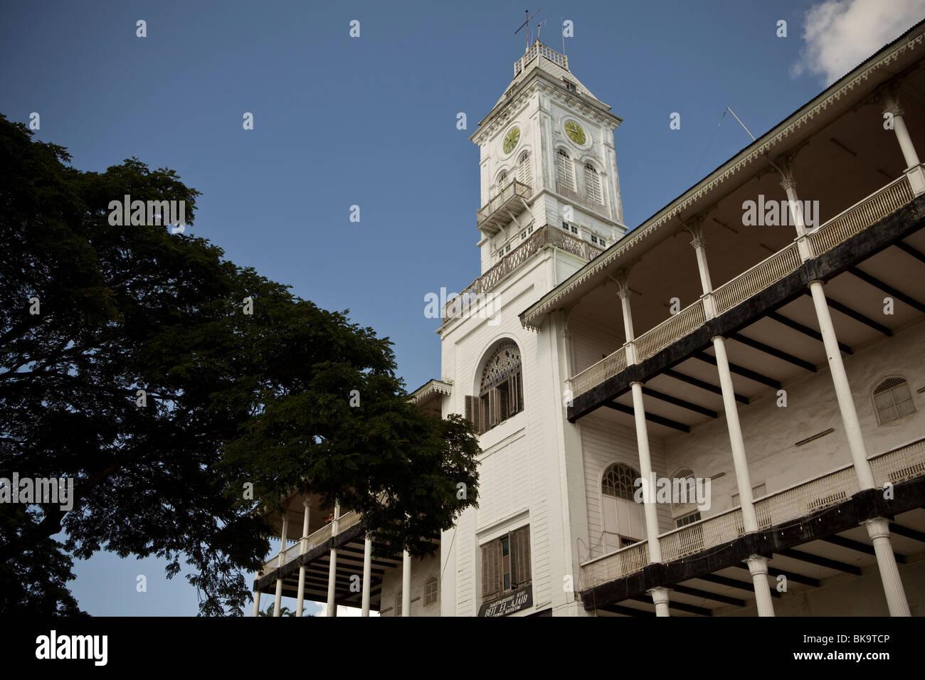 House of Wonders - Stonetown, Zanzibar, Tanzania. - Stock Image