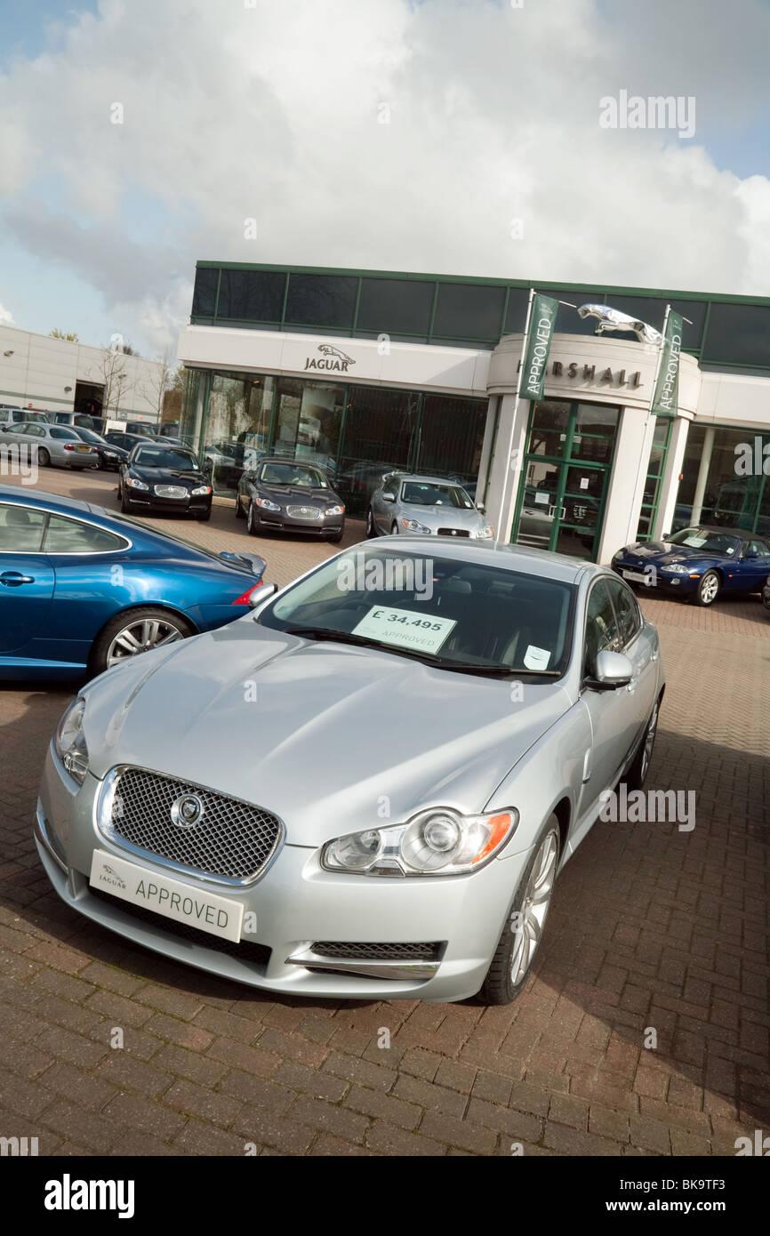Jaguar Cars For Sale >> Jaguar Cars For Sale Outside Marshalls Jaguar Dealership