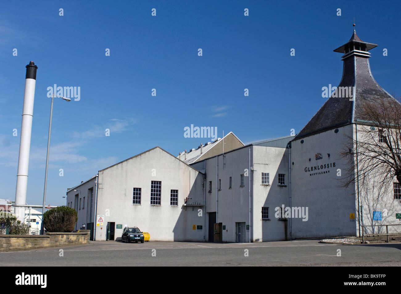 The Glenlossie whiskey Distillery Elgin Morayshire, Grampian Region, Scotland.  SCO 6159 - Stock Image