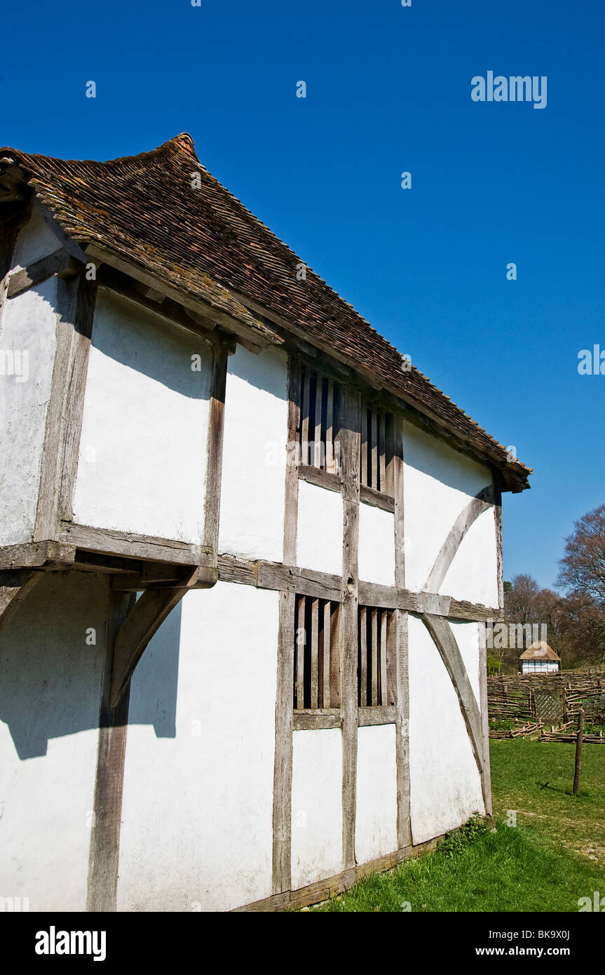 Tudor cottage - Stock Image
