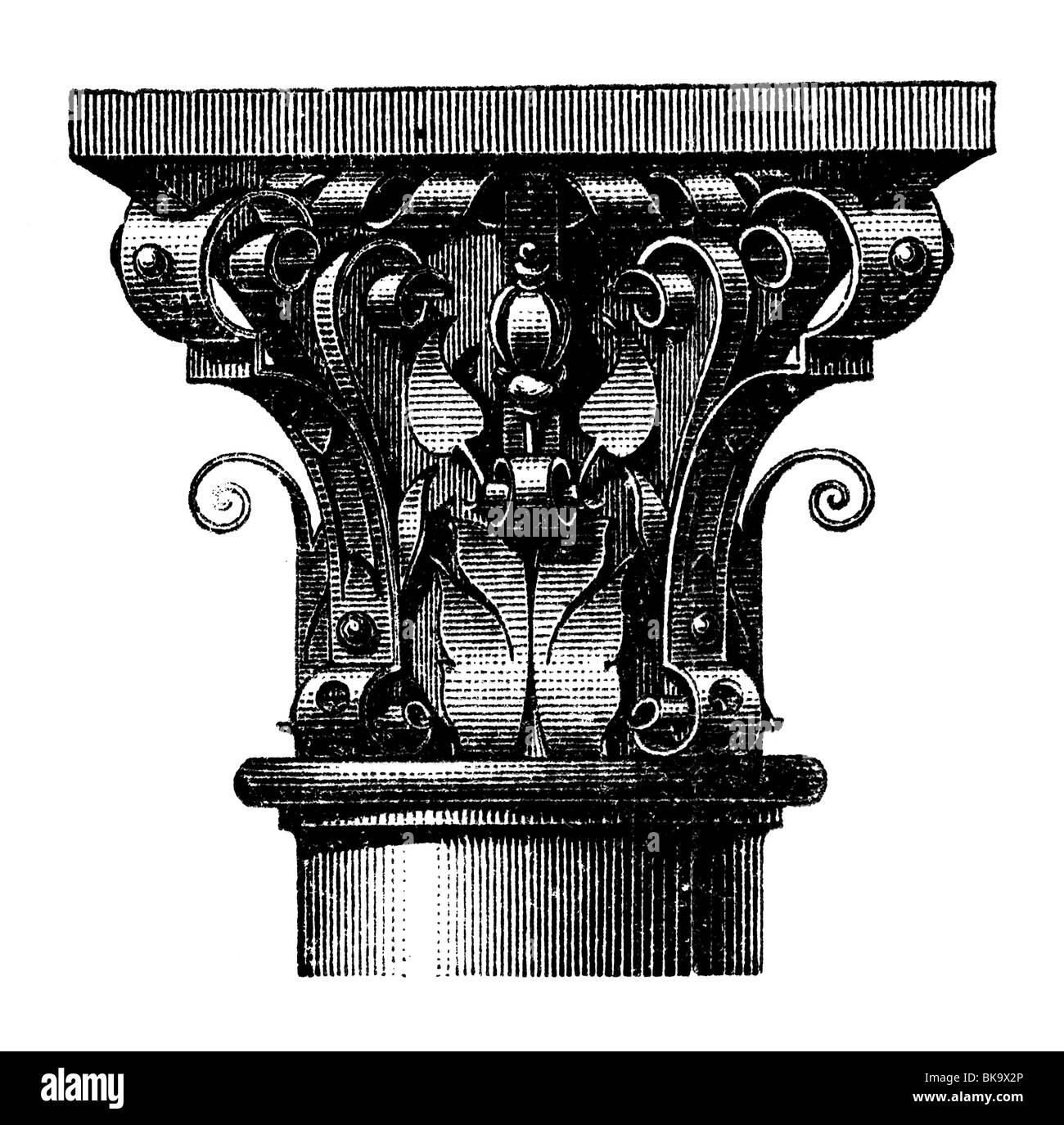 Iron capital - Stock Image