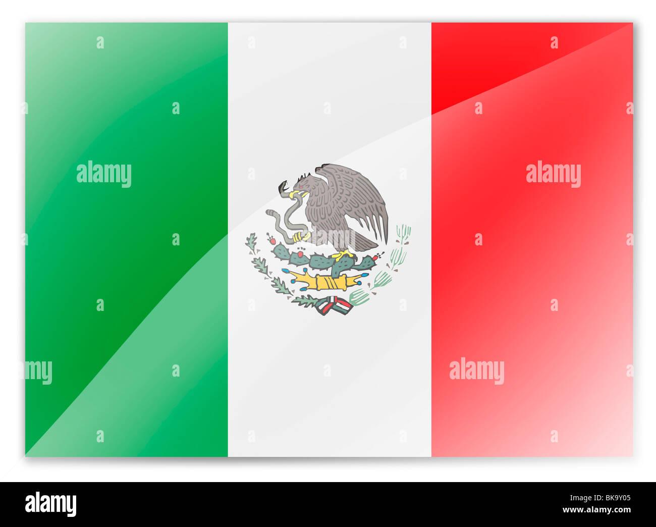 Mexico flag - Stock Image