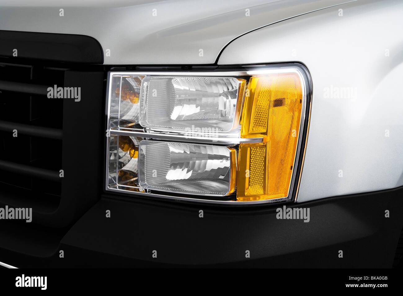 GMC Sierra 1500 WT pickup - Stock Image