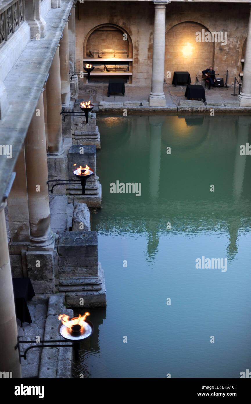 Roman Baths At Bath Stock Photos & Roman Baths At Bath Stock Images ...