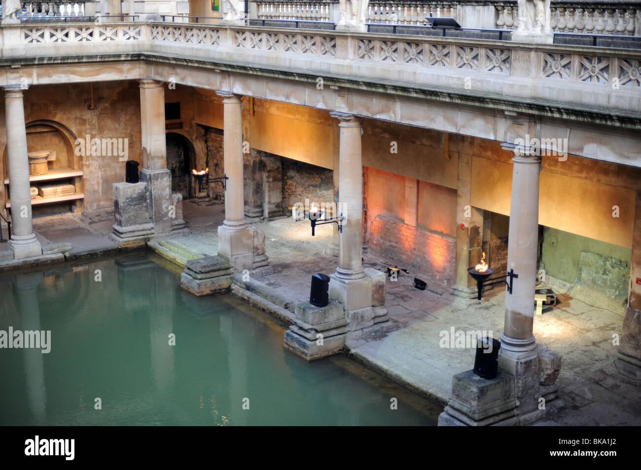 The Roman Baths, Bath - Stock Image