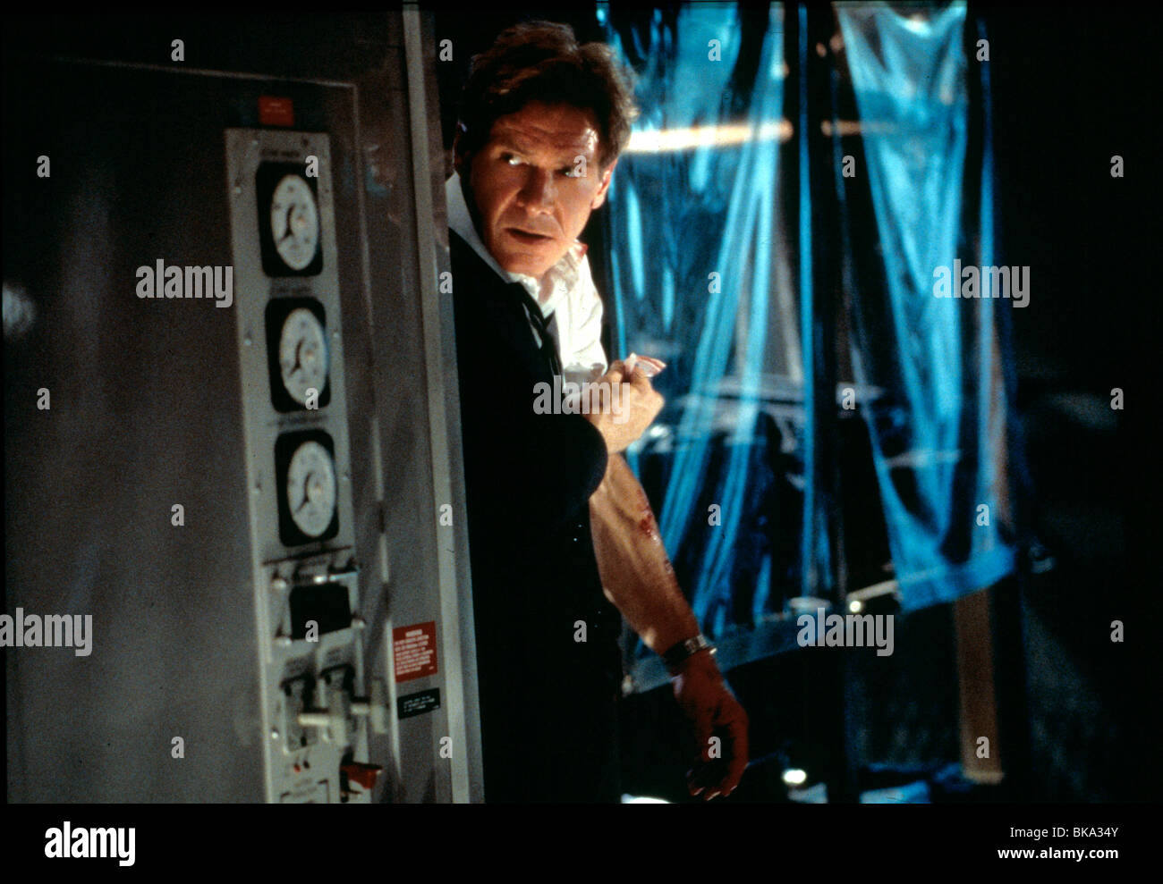 AIR FORCE ONE (1997) HARRISON FORD AFO 050 - Stock Image