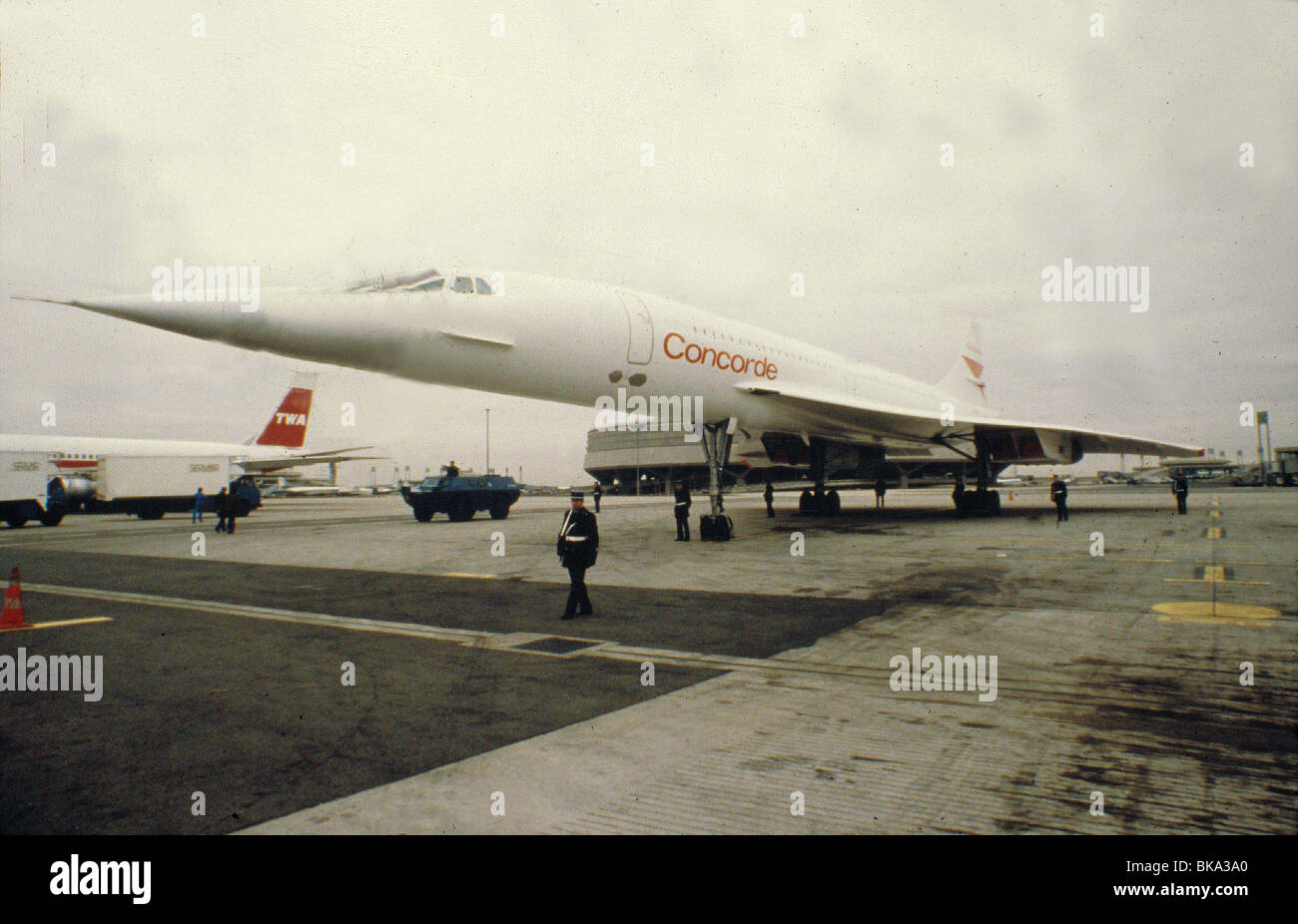 AIRPORT 80 : THE CONCORDE -1979 - Stock Image