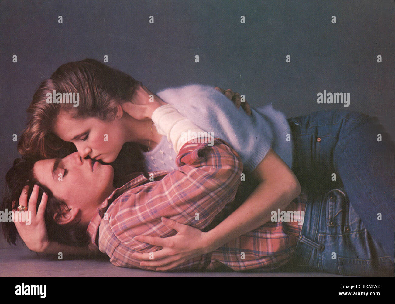ALL THE RIGHT MOVES (1983) TOM CRUISE, LEA THOMPSON ARM 008FOH - Stock Image