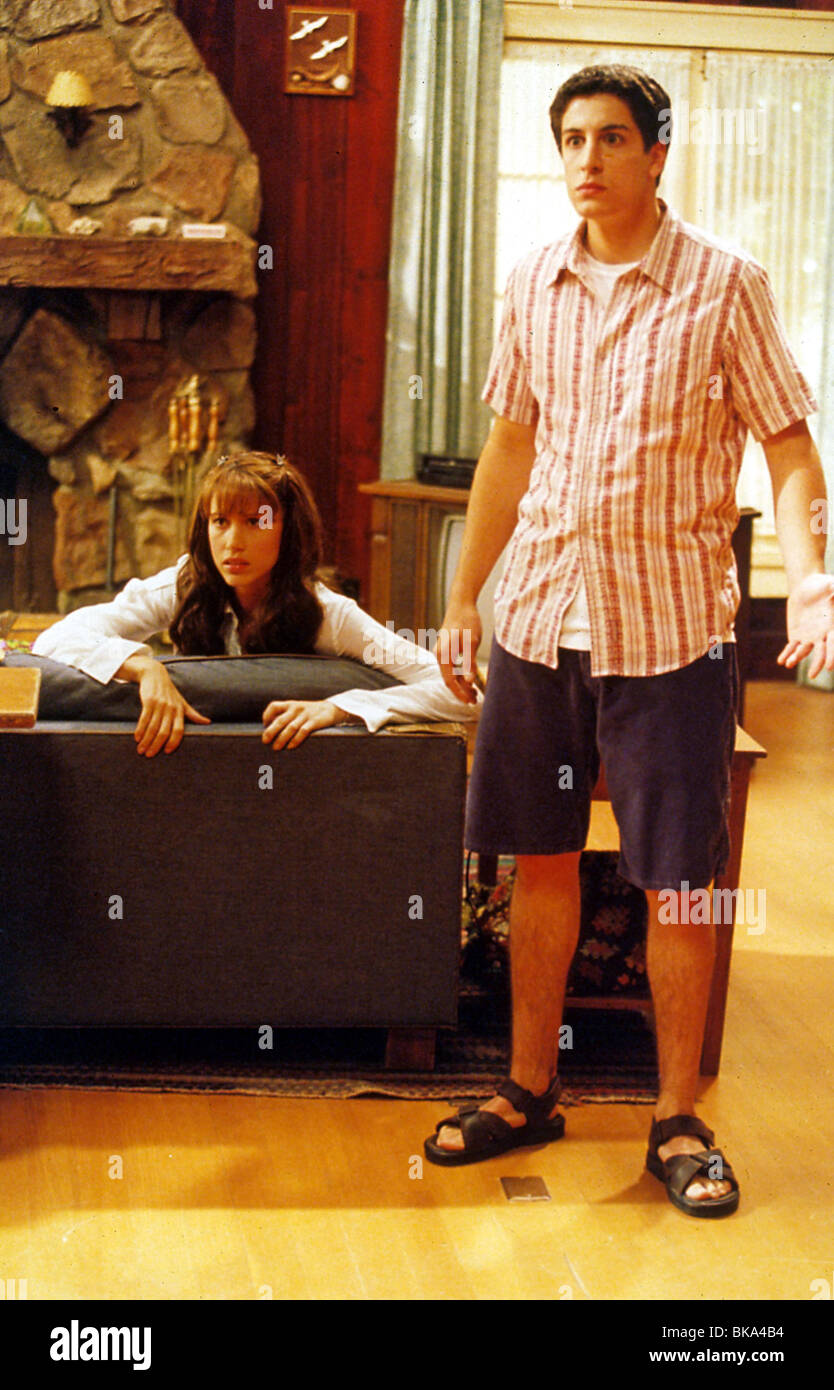 American Pie 2 2001 Shannon Elizabeth Jason Biggs Api2 013 Stock Photo Alamy