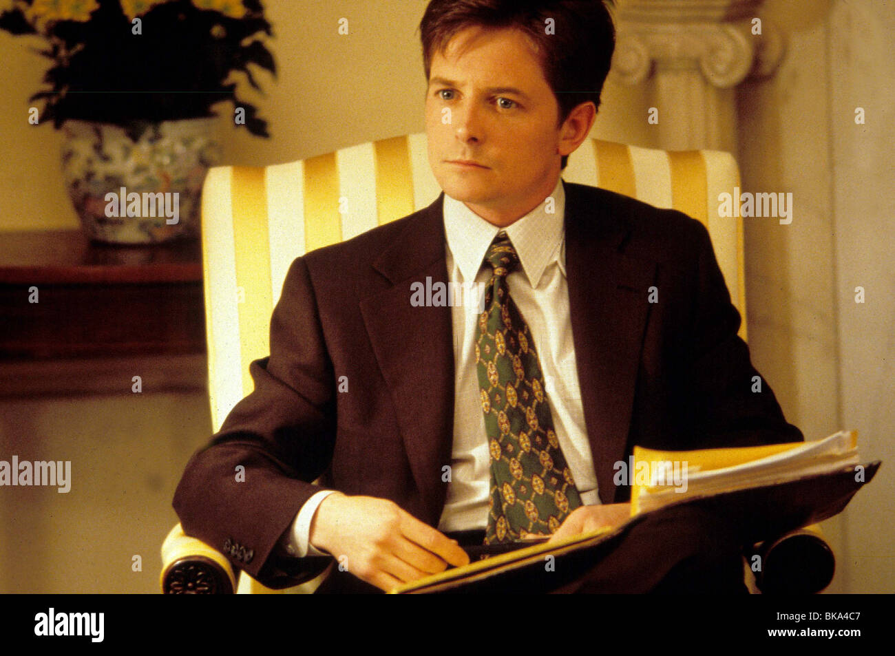 THE AMERICAN PRESIDENT (1995) MICHAEL J FOX AMPR 003 - Stock Image