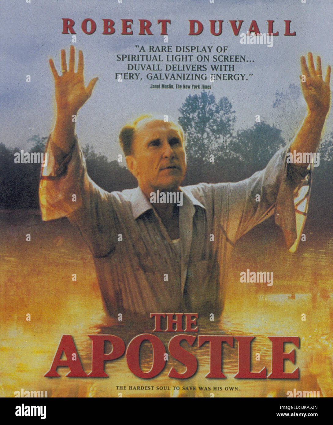 THE APOSTLE -1999 POSTER - Stock Image