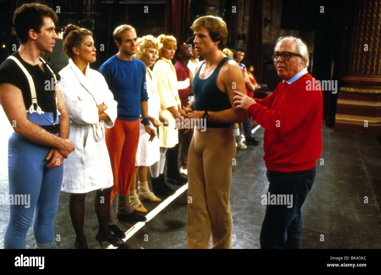 RICHARD ATTENBOROUGH (DIR) O/S 'A CHOROUS LINE' (1985) BLANE SAVAGE RATH 019 - Stock Image