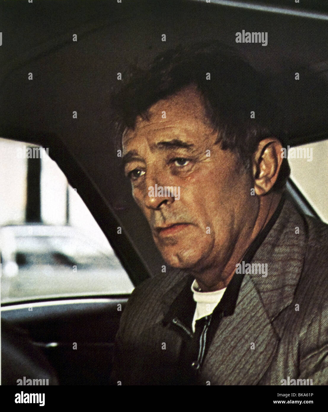 The Friends of Eddie Coyle Year : 1973 Director : Peter Yates Robert Mitchum - Stock Image