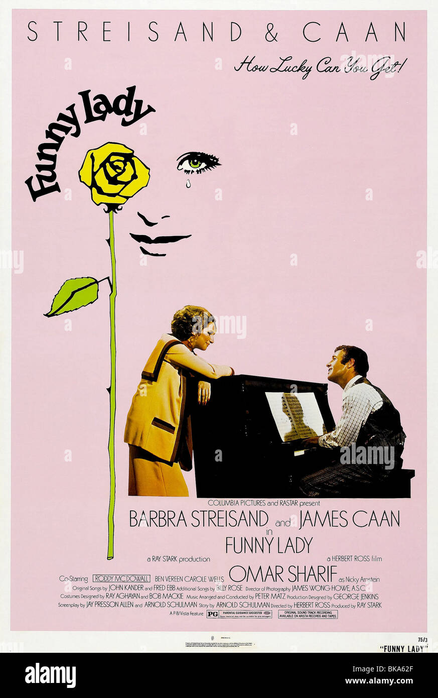 Funny Lady Year : 1975 Director : Herbert Ross Barbra Streisand, James Caan Movie poster (USA) - Stock Image